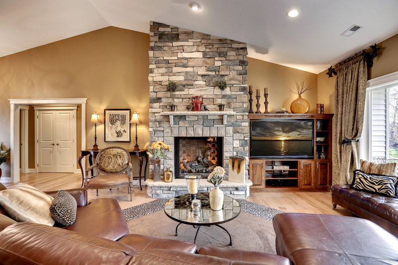 View Photos Of Custom Family Room Cabinet Design And Installation Projects