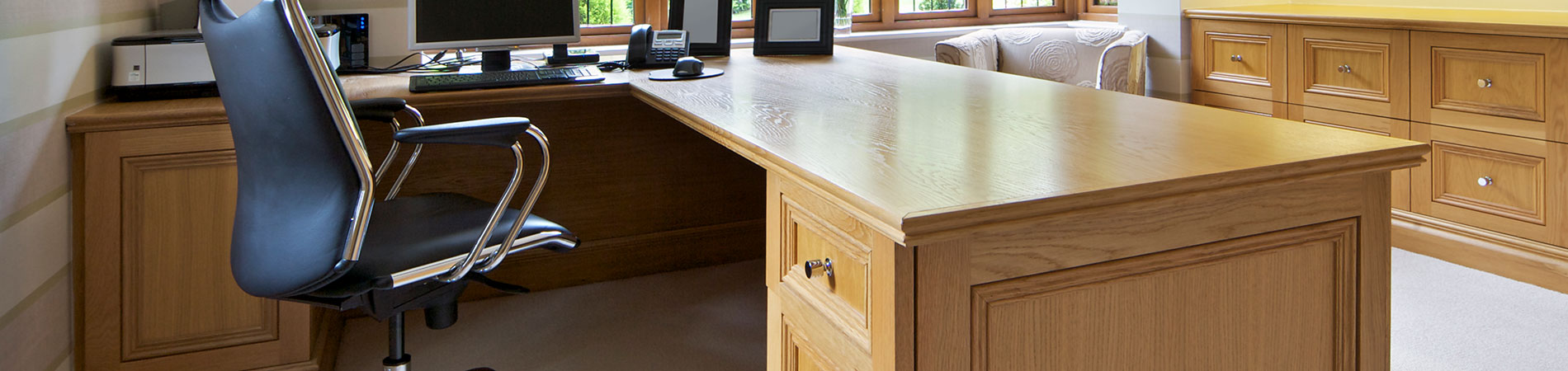 Home Offices | Home Office Project Photo Gallery | View Our Custom  Cabinetry Projects | McChesney Cabinets | Elk River, MN