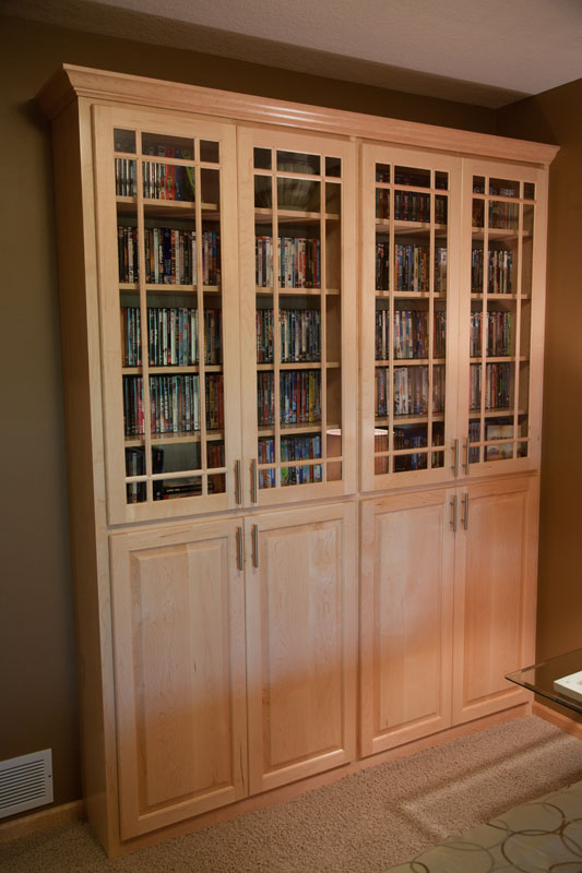 View Photos Of Custom Home Office Cabinets And Storage Projects.